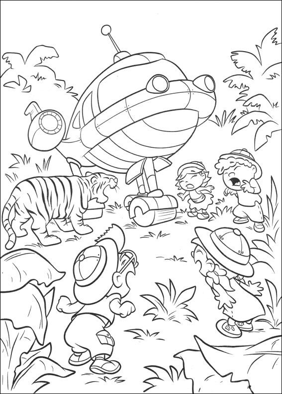 Little Einsteins Coloring Pages 17 | omalovánky | Pinterest | Mini ...