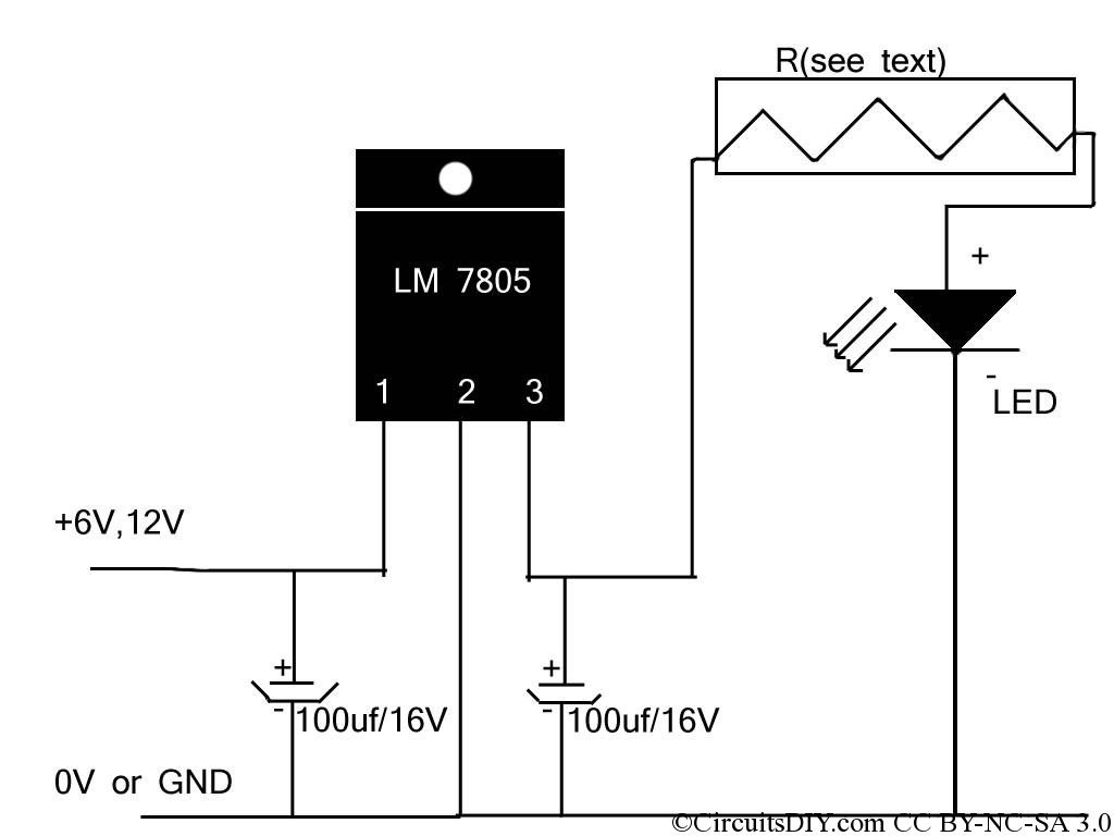 if you re looking for a simple high power led driver circuit then it s here it can drive high power leds easily while ensuring maximum brightness  [ 1024 x 768 Pixel ]