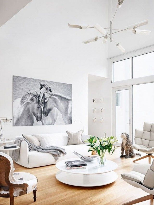 Great Get The Look: A Bright White Living Room Amazing Ideas