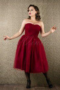 Bunny Tamara Red Party Dress 102 20 16782 20151118 007W