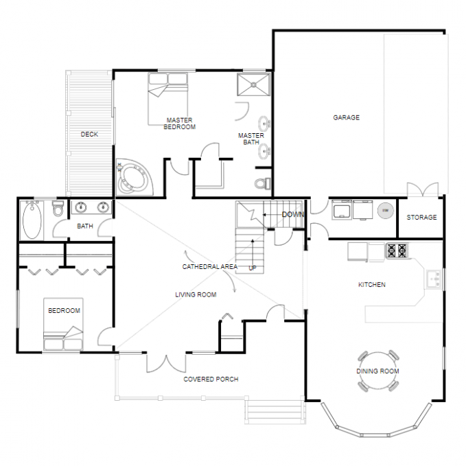design house floor plan online free