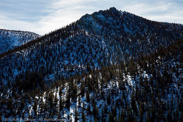 Sierra Snowscape by Kurt Lawson, via Flickr