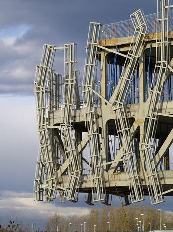 Estructura doble viga hormigón armado