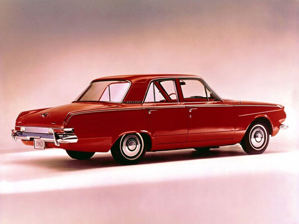1963 Plymouth Valiant V 100 Sedan 113 1962 63 Plymouth