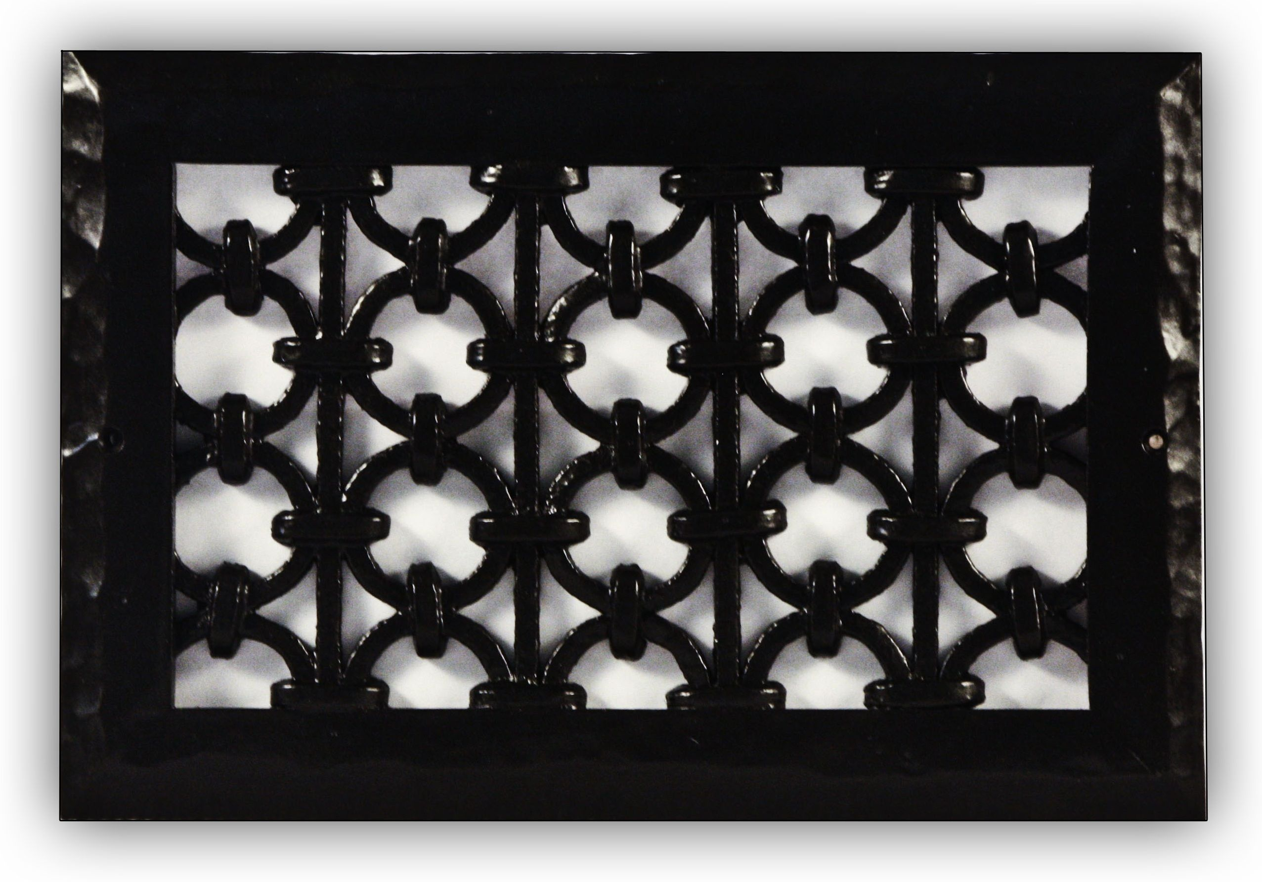 Iron Ring Grille by Majestic Vent Covers. Custom sizes and