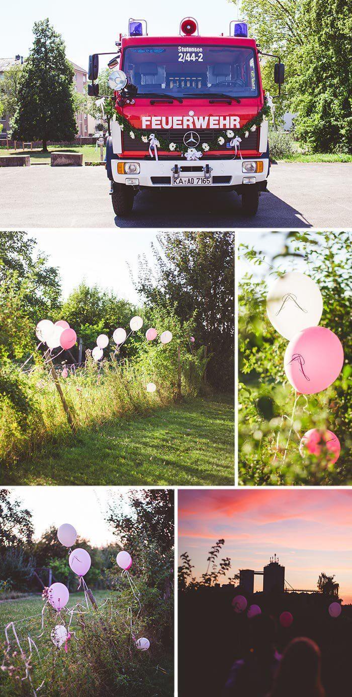 Feuerwehr Hochzeit Liebevolle Diy Hochzeit Ideen