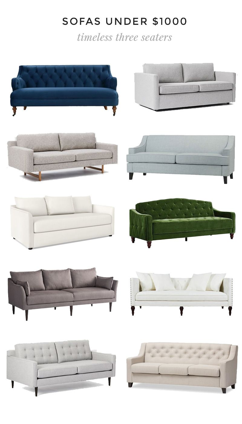 Timeless Three Seater Sofas Under 1000 Traditional Sofa