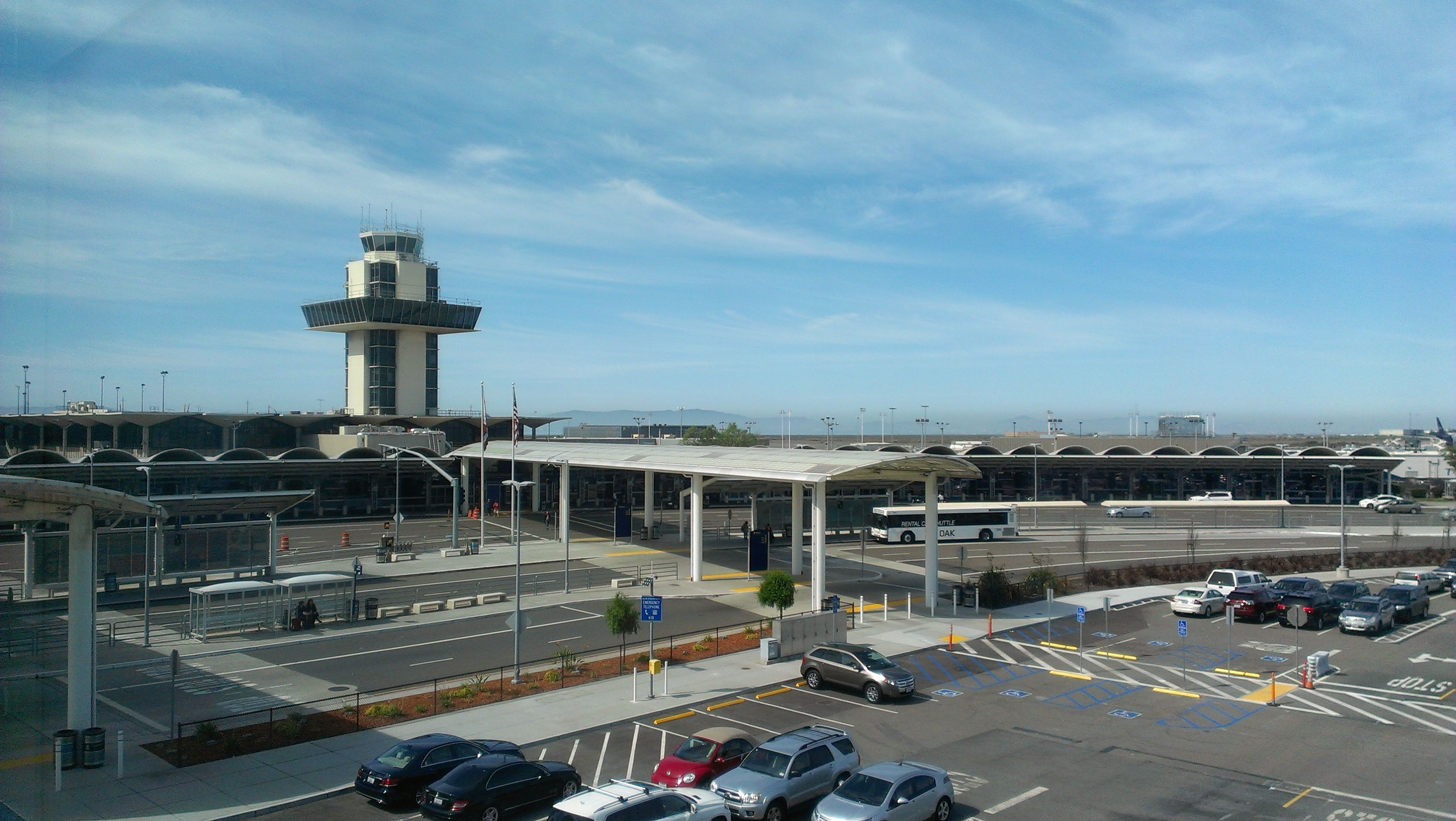 Oakland California Airport Terminal X Infrastructure - California airports