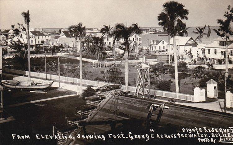 Southern Foreshore Belize City 1931 Belize City Belize City