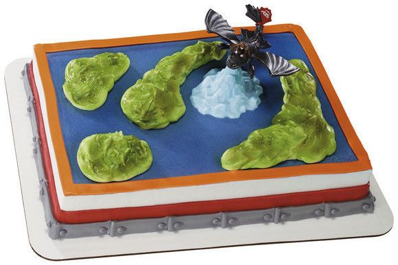 HOW TO TRAIN YOUR DRAGON CAKE DECORATING KIT Topper