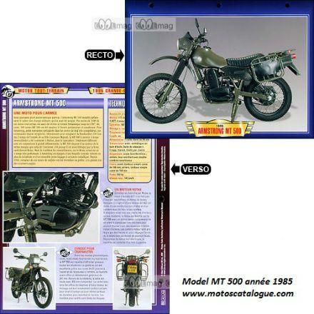 1985 Armstrong (UK) 500 MX