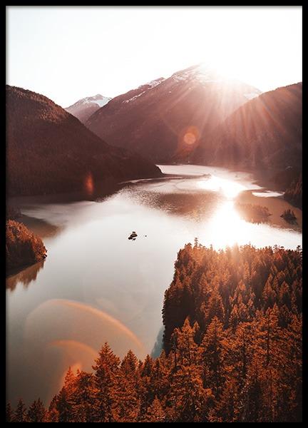 Prints Online Buy Prints With Scandinavian Design Desenio Co Uk Diablo Lake Nature Posters Landscape Poster