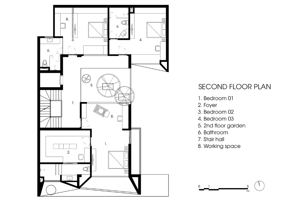 Gallery Of Puzzle House A8 Studio 17 Floor Plans Ground Floor Plan House
