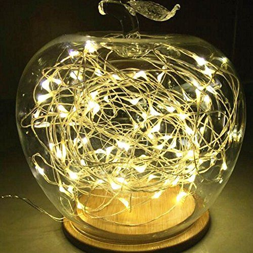 Fairy string lightmicro super bright warm white color wire rope fairy string lightmicro super bright warm white color wire rope lights battery cr2032 operated solutioingenieria Images