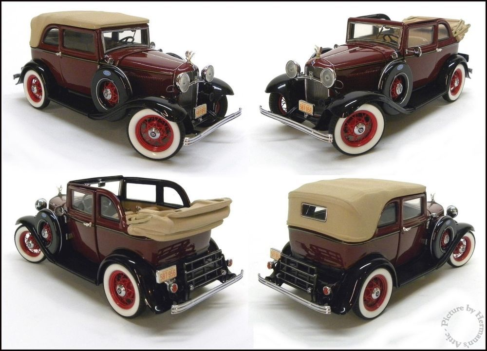 Bonnie Amp Clyde S 1932 Ford V 8 By Franklin Mint 1 24