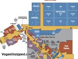 Paris Las Vegas Property Map Vegas Pinterest Las Vegas Hotels