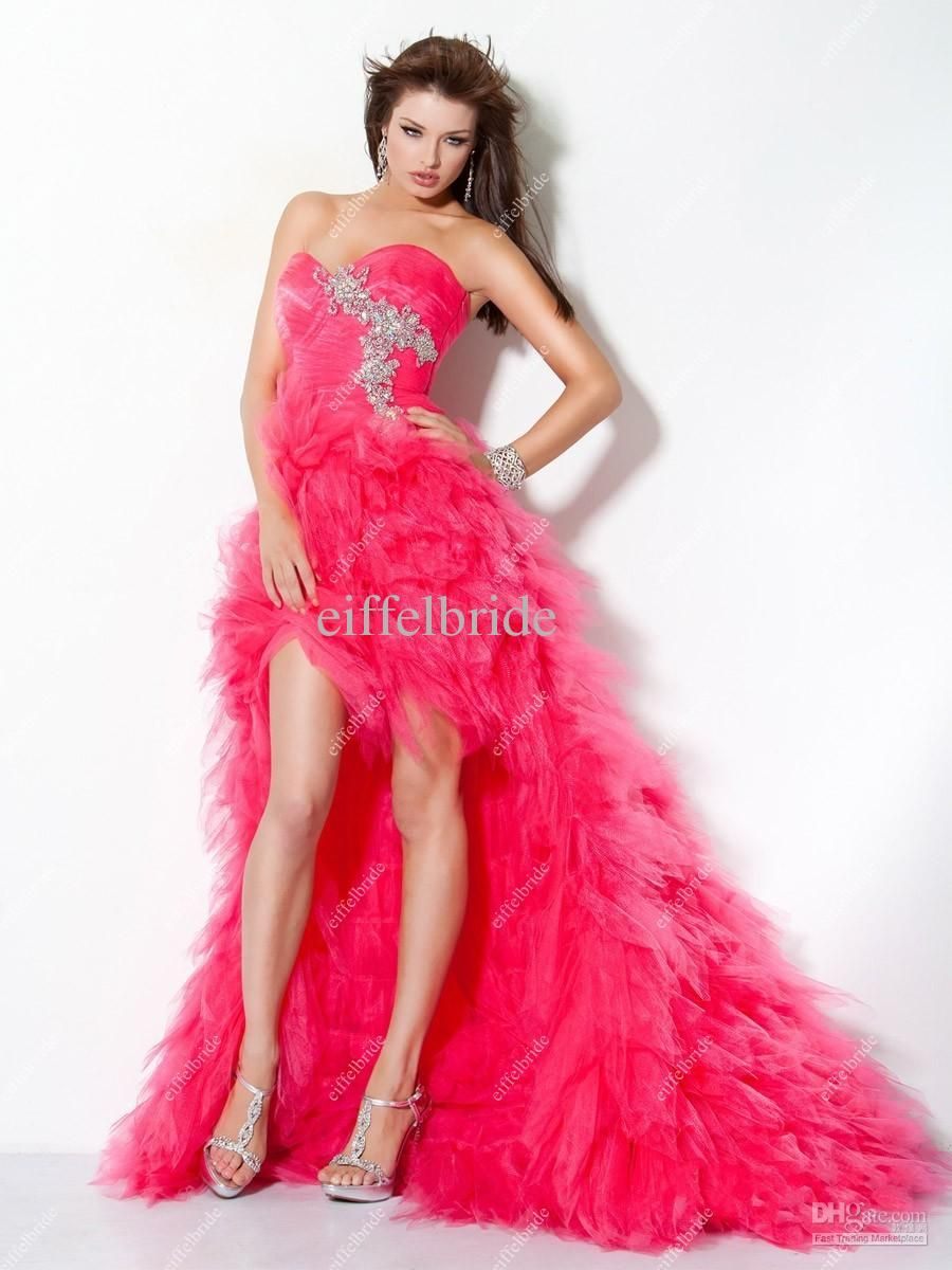 short in front long in back prom dresses | ... Dress Sweetheart ...