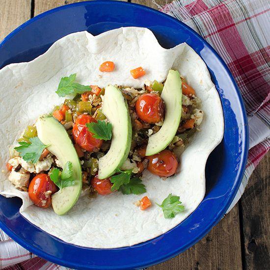 Vegan Breakfast Burrito   Food & Wine