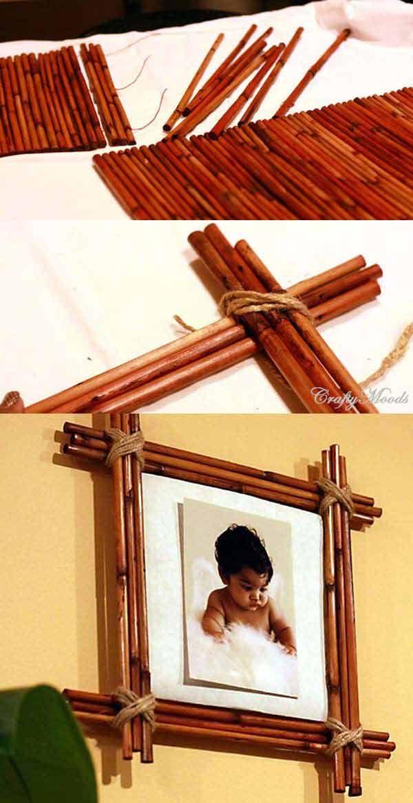 Bamboo Lamp Decoration