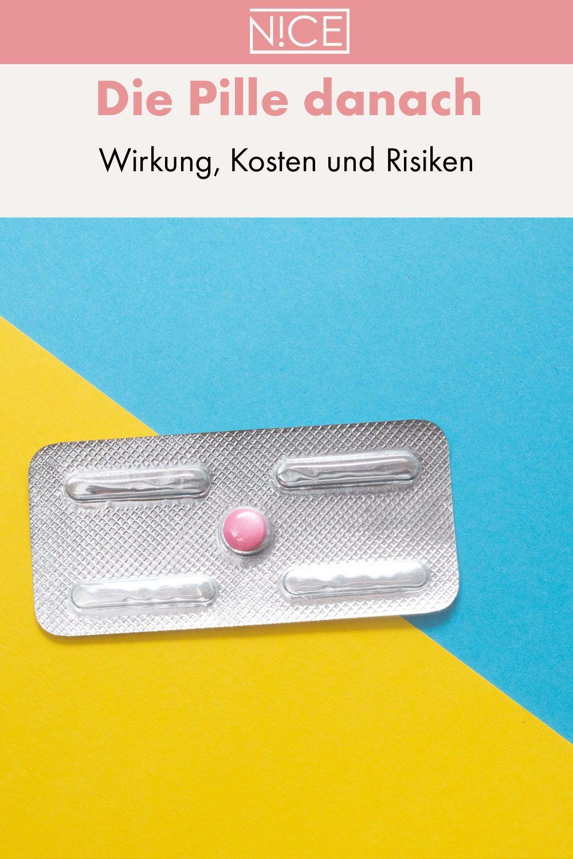Die Pille danach: Wirkung, Kosten und Risiken   Pille