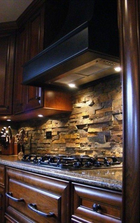 modern kitchen real estate luxury stone backsplash beveled rh pinterest com