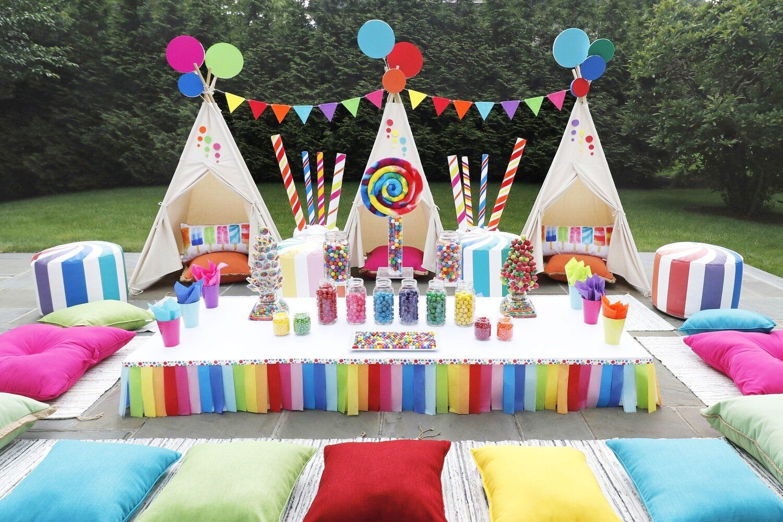 Picnics & Sleepover Party Rentals Indoor & Outdoor Party