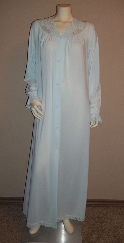 Beautiful Vintage Robe By Shadow Line Size Large #shadowline #Robes