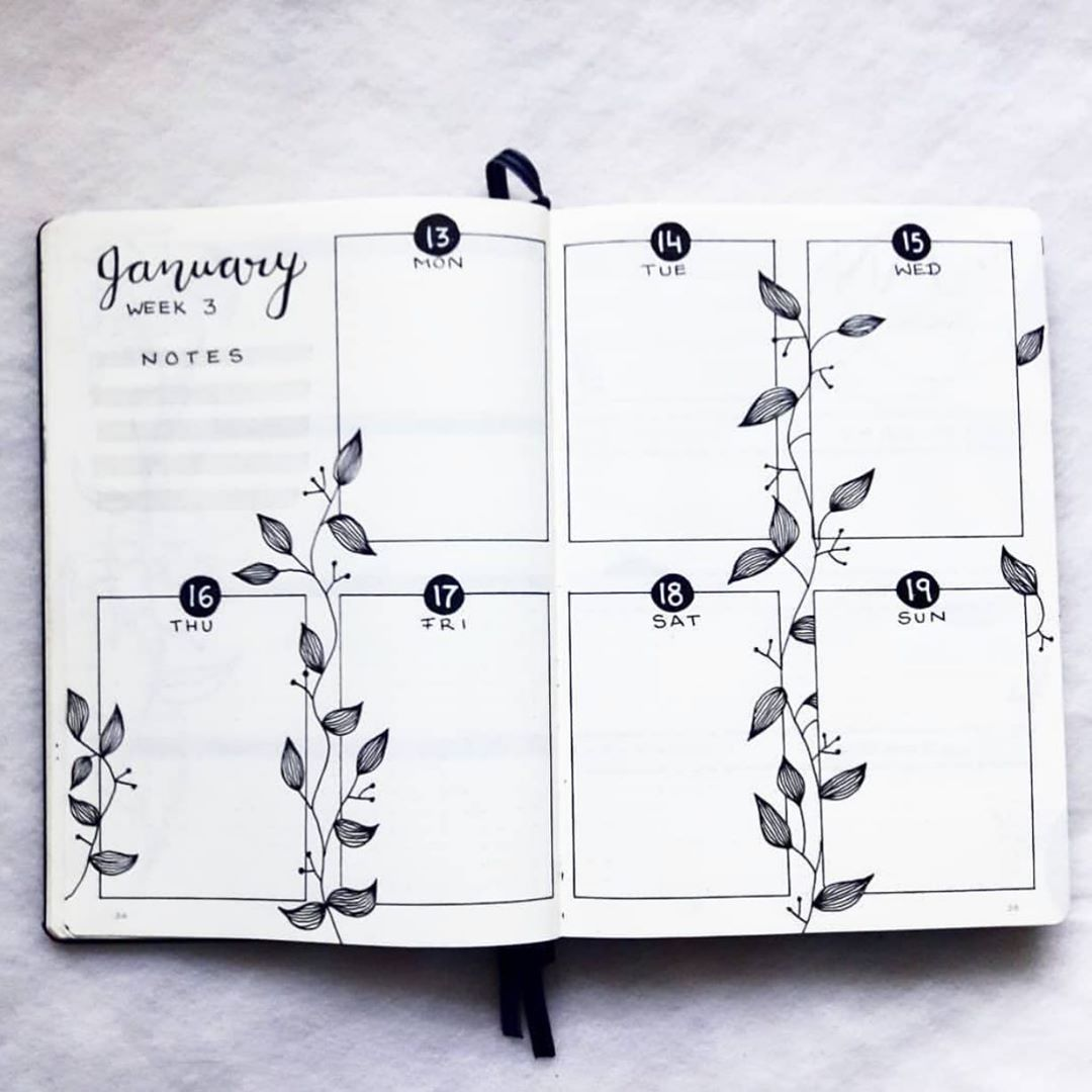 "Bullet Journal � on Instagram: ""Created by @needful.art . . . . . . . . . #bulletjournal #paper #notebook #mood #moodtrackers #letteringchallenge #lettering #letteringart…"""