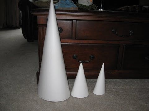 How to make a really big cone for less than 1 for Cardboard cones for crafts