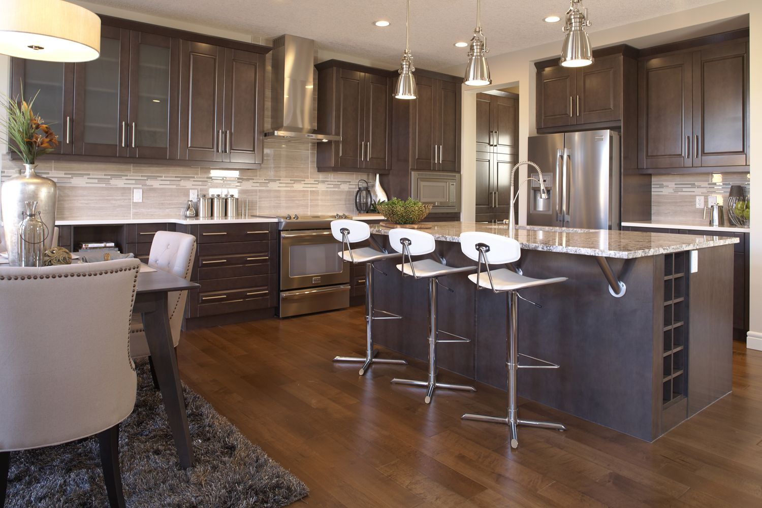 The stanton kitchen in montreux trico homes check out for Ak kitchen cabinets calgary