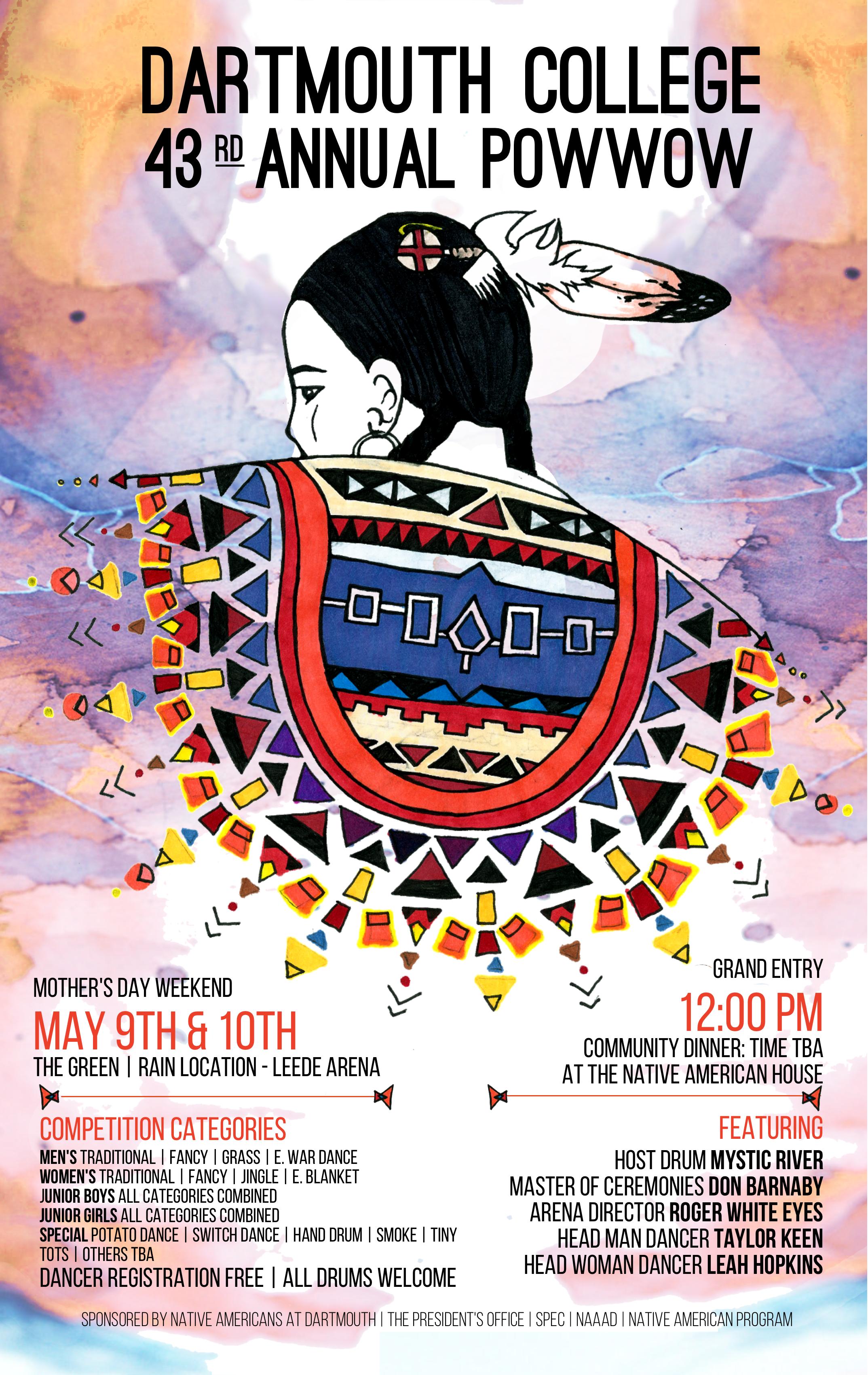 Pow Wow Poster 2015 Pow Wow Native American Dartmouth