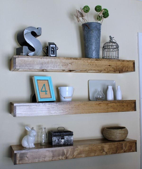 Mar 24 How To Floating Shelves In 5 Steps  Floating Shelves Classy Floating Shelves Dining Room Decorating Inspiration