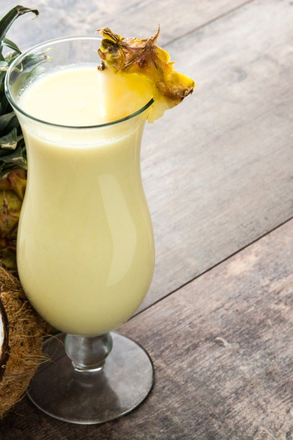 Exotischer Cocktail: Piña Colada #alcoholicpartydrinks