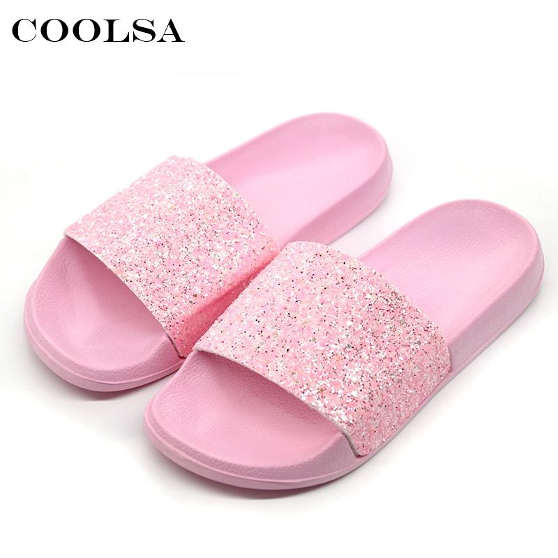 Womens Flat Casual Shoes Bow Knot Flip Flop H Summer Slippers Sliders Sandals