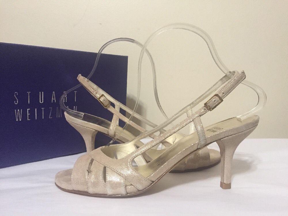 6790d04cfe0a Stuart Weitzman Mischievous Mercury Frost Cipria Women s Evening Heel  Sandal 7.5  StuartWeitzman  DressyEveningHeelsSandals   BridalorWeddingEveningFormal