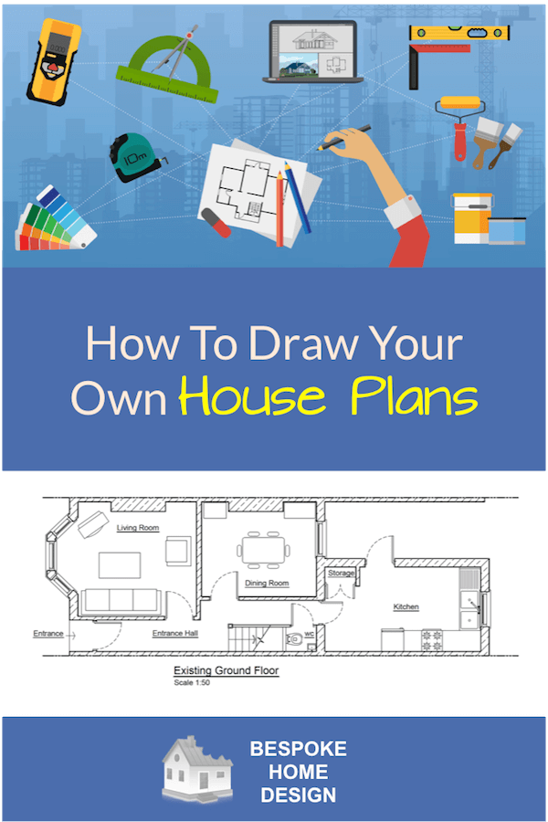 Be Your Own Floorplanner How To Draw Your Own House Plans Drawing House Plans House Plans Building A House