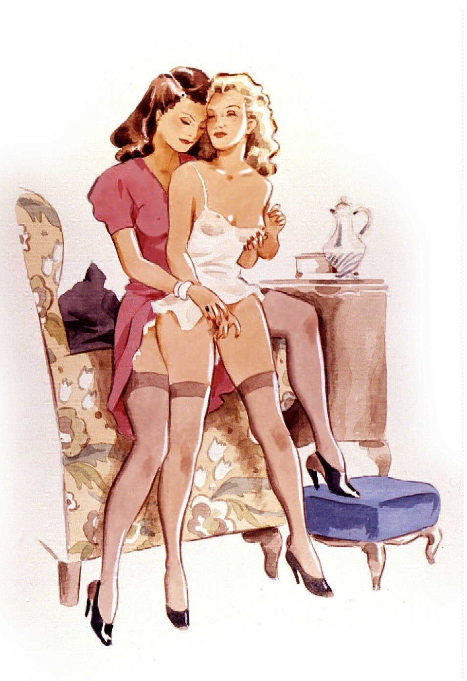 pinlisa on cartoon | pinterest | lesbian art, sexy cartoons and
