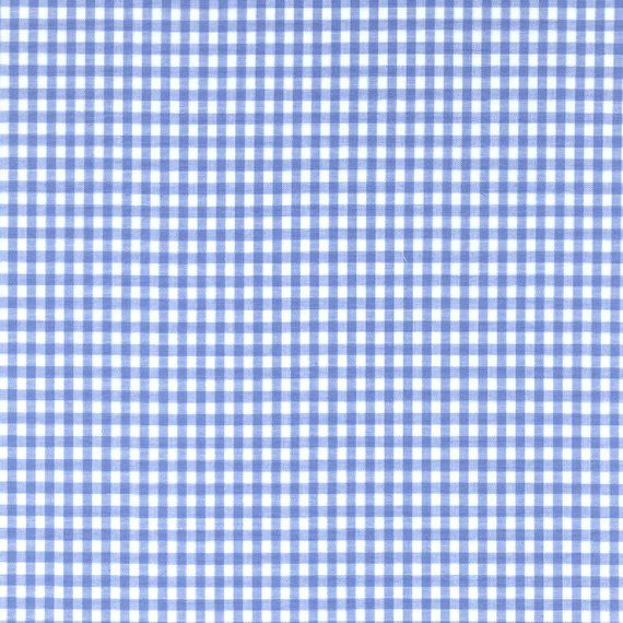 60 Blue Gingham Check Fabric 1 8 Check 20 Yards By The Bolt