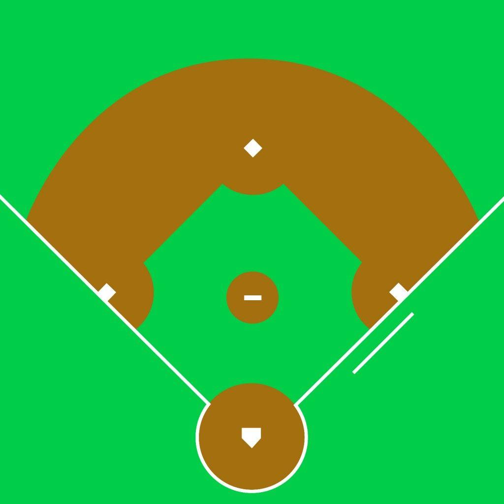 Baseball Field Clip Art #4784