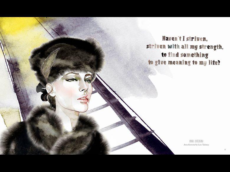 """Anna Karenina from """"WellRead Women"""" by Samantha Hahn"""
