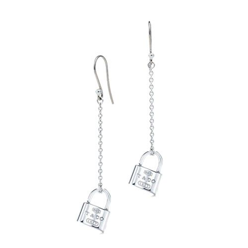 10575b3d20 Tiffany 1837 Lock Chain Earrings Tiffany And Co Earrings, Tiffany Jewelry,  Chain Earrings,