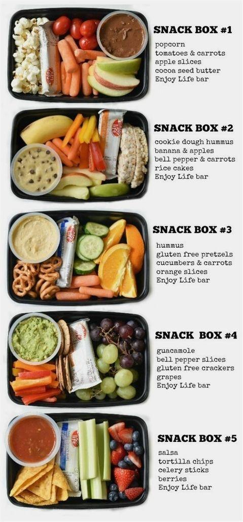 Baby Snack Bento boxes -