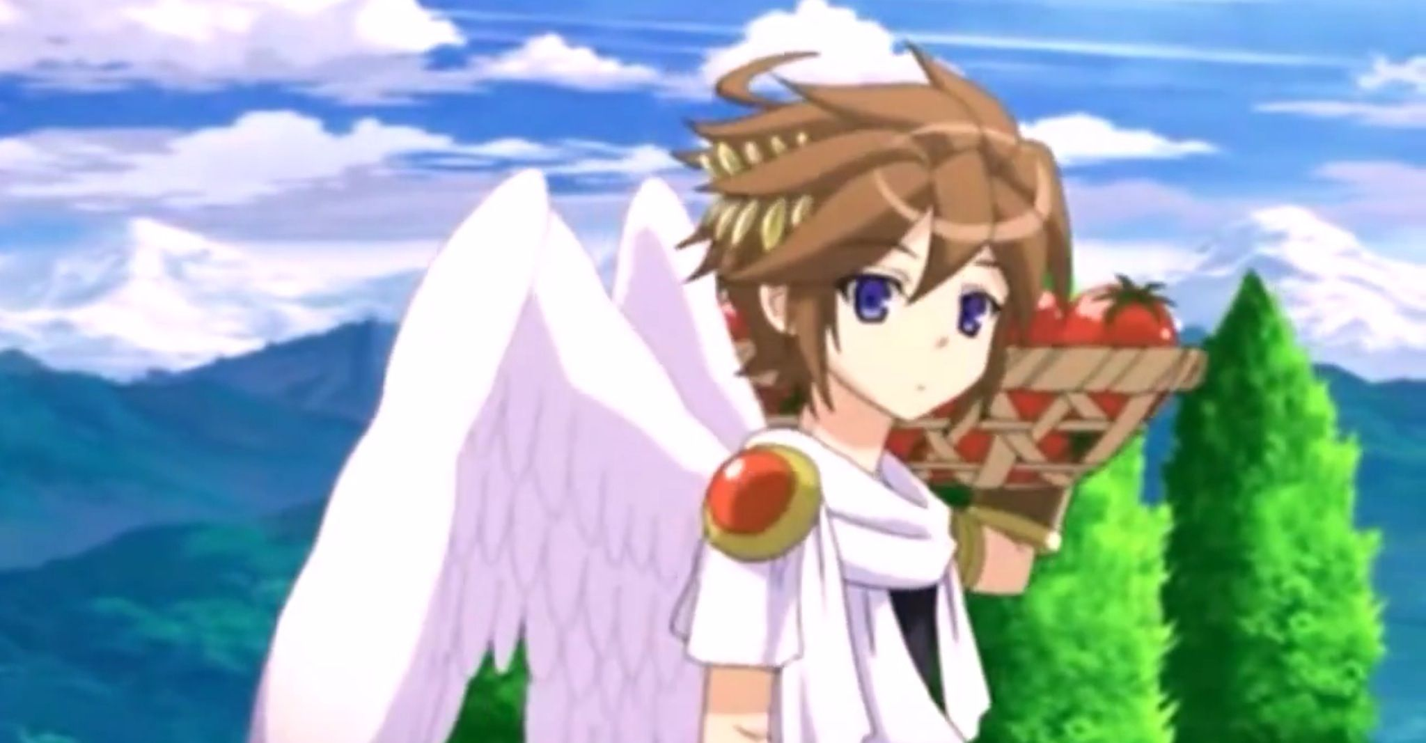 Kid icarus uprising anime shorts i find pit so cute x3