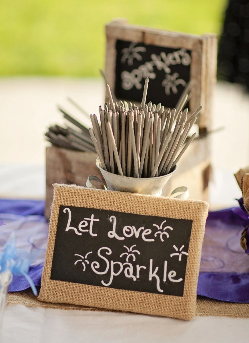 DIY Country Wedding Décor If your on a budget weddings can easily ...