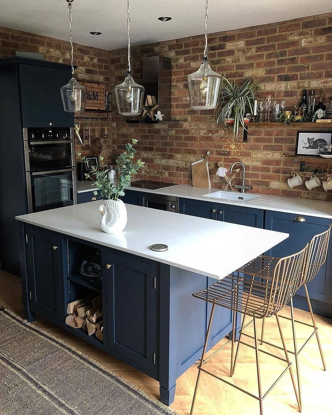 20 Goergeous Style Kitchen 2020 Trends Key Elements Design Ideas Industrial Style Kitchen As One Of The M In 2020 Haus Kuchen Kuchen Design Kuchenumgestaltung