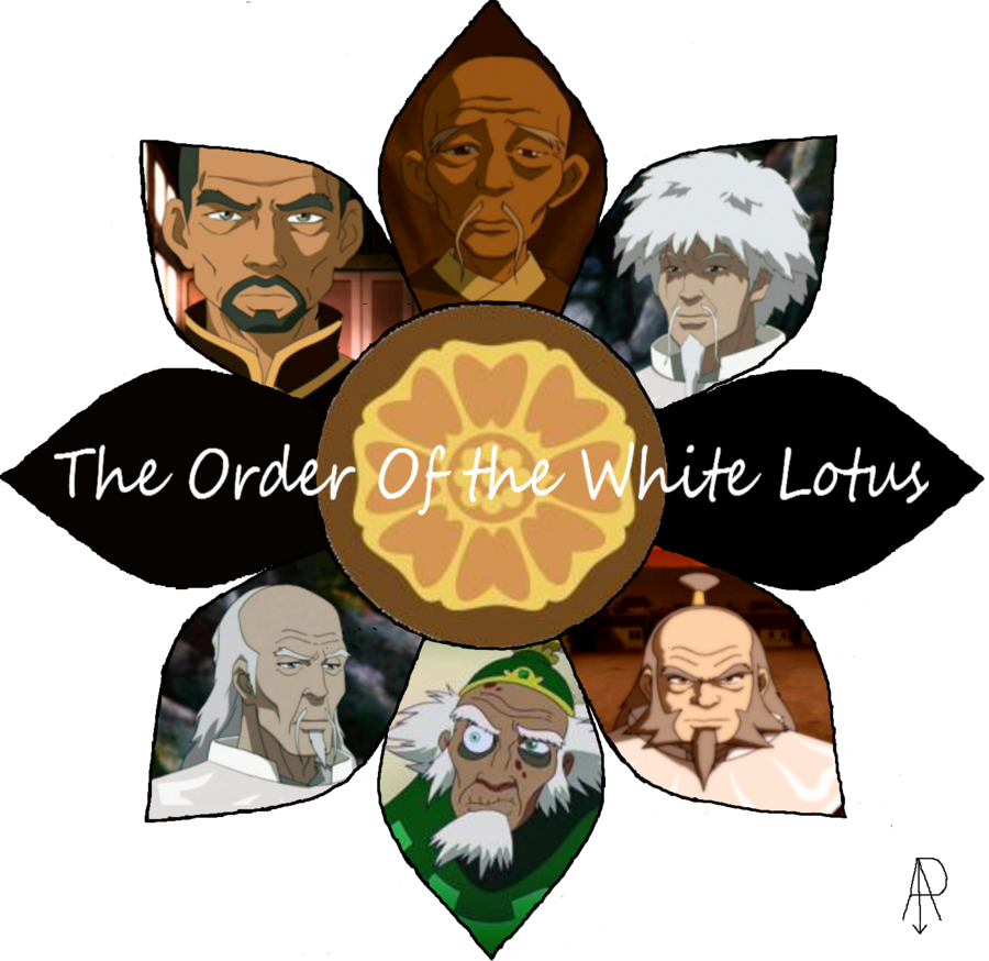 The Order Of The White Lotus With Images The Last Avatar Avatar Avatar Aang