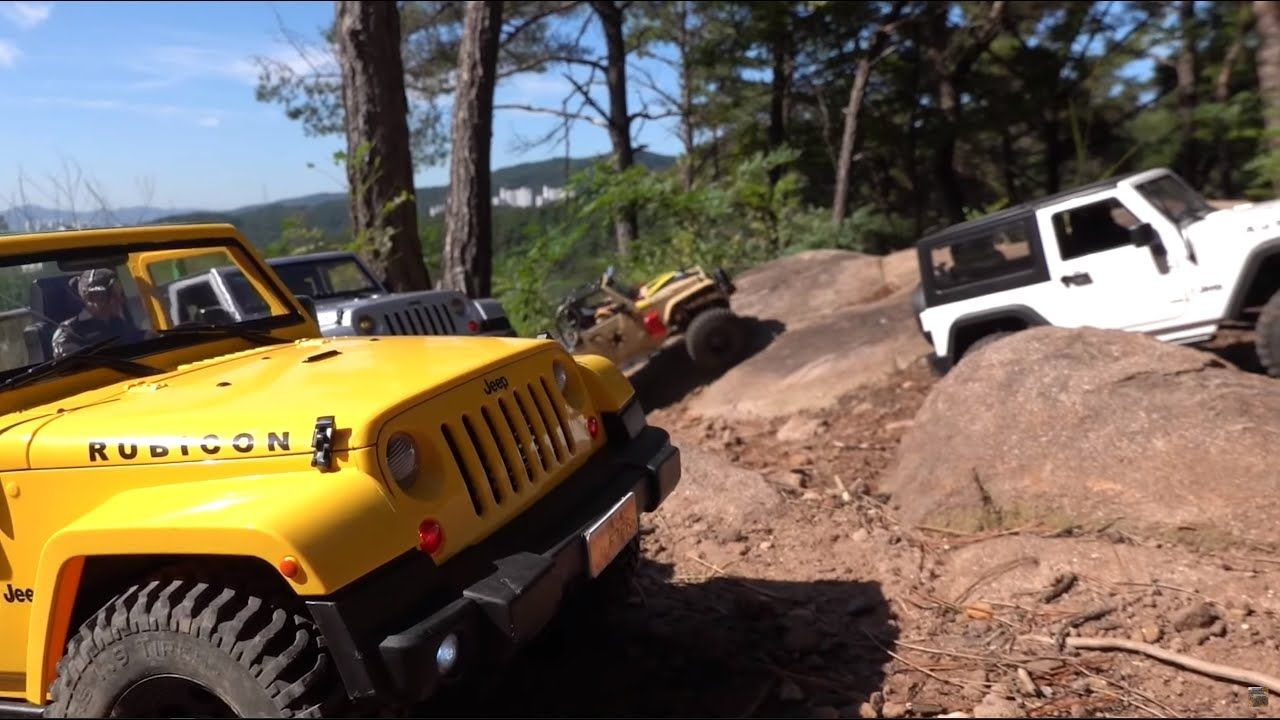 Rcmodelex Jeep Rubicon Jk 3 Door Off Road Club Day In Goongsan