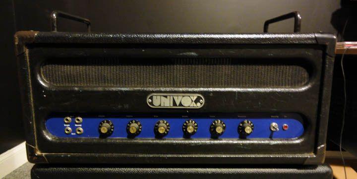 univox 1061 tube bass guitar amp marshall ampeg vintage 1970 39 s nice ebay amps. Black Bedroom Furniture Sets. Home Design Ideas