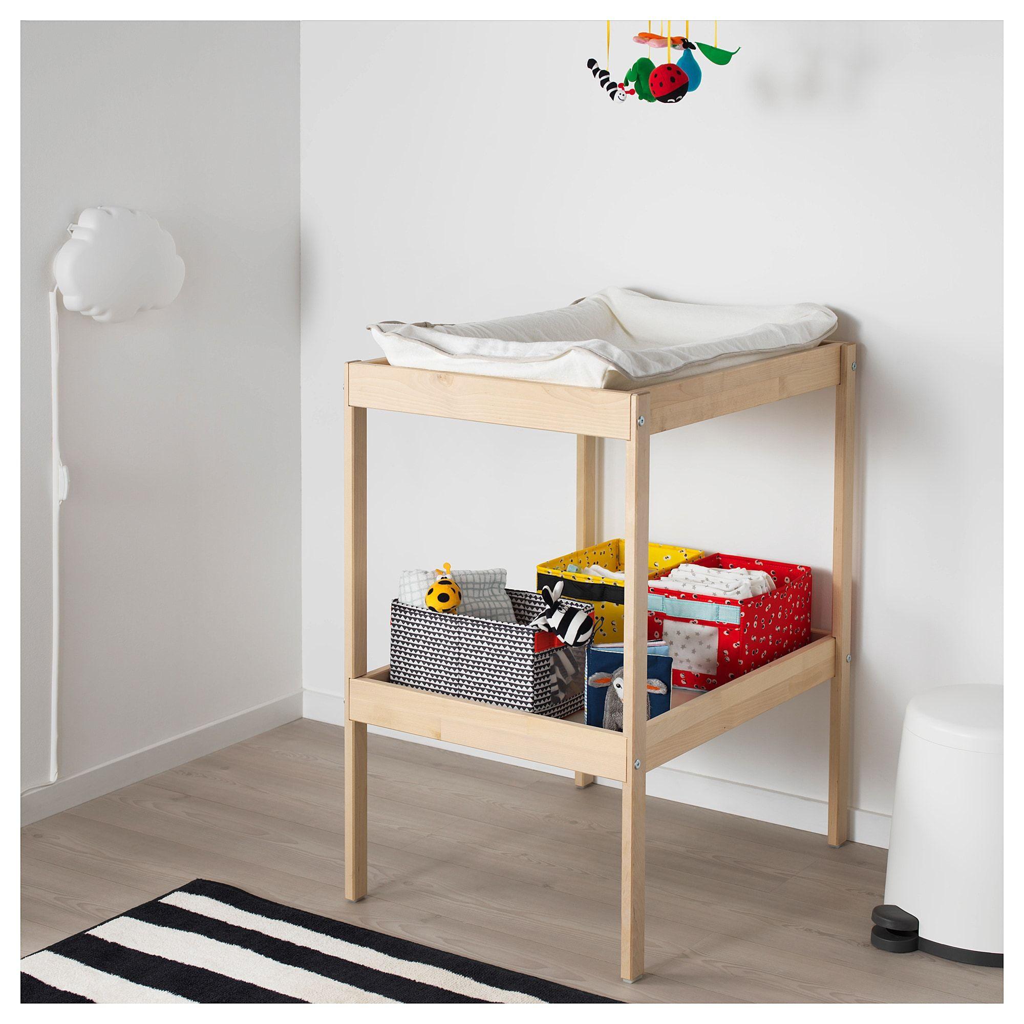 Ikea Sniglar Changing Table Beech White Nursery In 2019