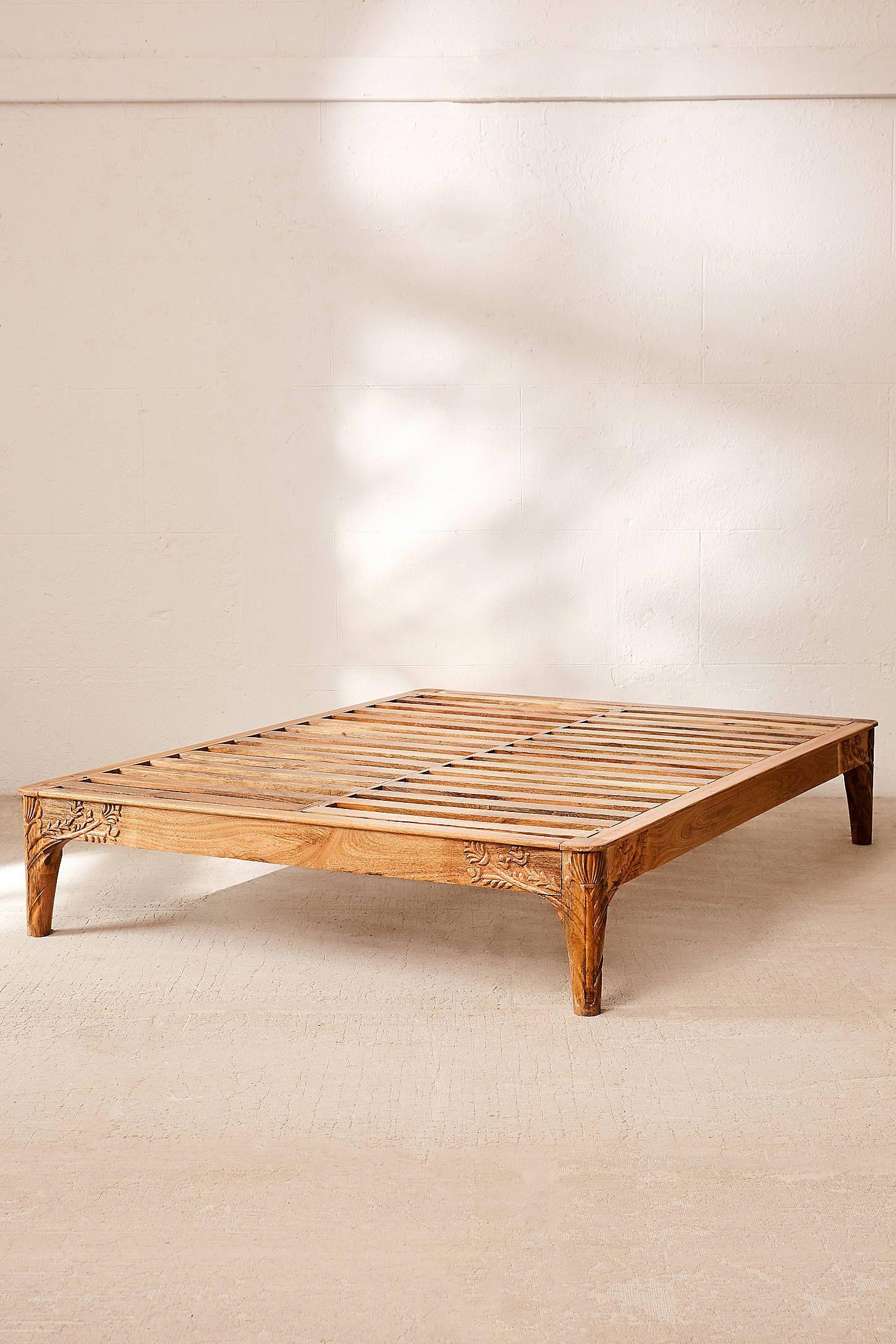 online store 98123 ab7d4 Andrea Carved Platform Bed | global homewares | Platform bed ...